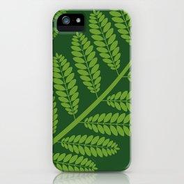 JAKARANDA 1 iPhone Case