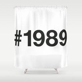 1989 Shower Curtain