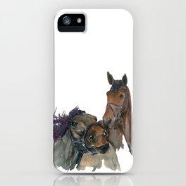 Horses #3 iPhone Case
