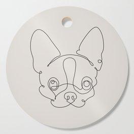 One Line Chihuahua Cutting Board