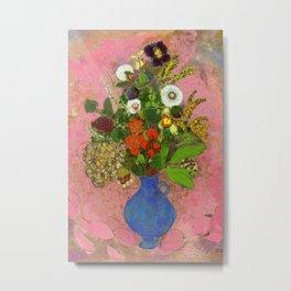 Bright Flowers by Redon Metal Print