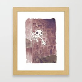 Leaping into Action Framed Art Print