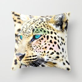Fashion Leopard Throw Pillow