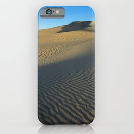 Killpecker_Sand_Dunes 3, Sweetwater_County, WY iPhone Case