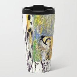 Mother and Child Cheetah Travel Mug