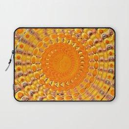 Sunny Side Bubble Dot Pattern 4 Laptop Sleeve