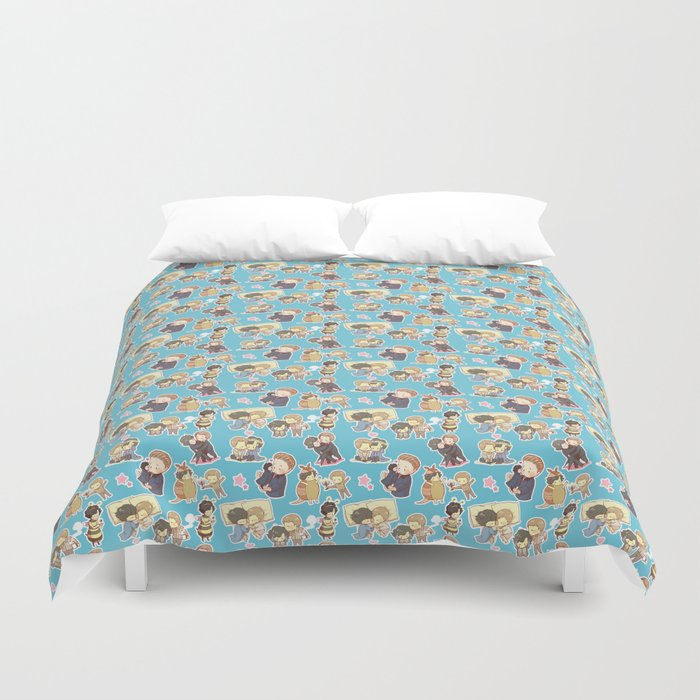 Chibilock Pattern Duvet Cover