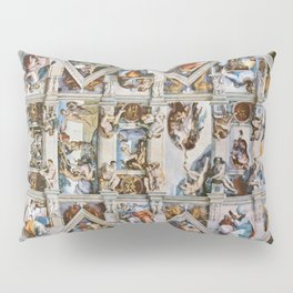 Sistine Chapel Ceiling Michelangelo Pillow Sham