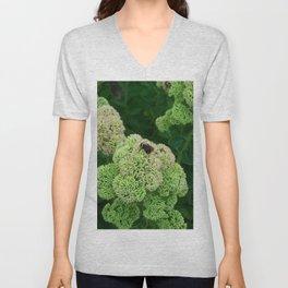 Floral Print 022 Unisex V-Neck
