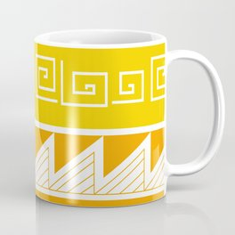 Patterns: Mimbres Yellow Coffee Mug