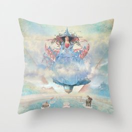 Gameplan II Throw Pillow