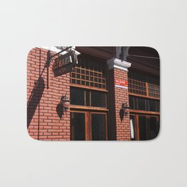 Red Brick Wall... Bath Mat