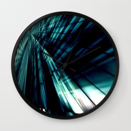 The mirror of the soul Wall Clock