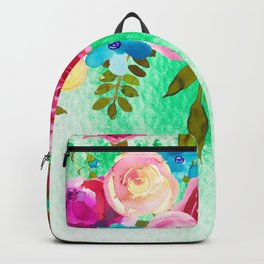Flowers bouquet #41 Backpack