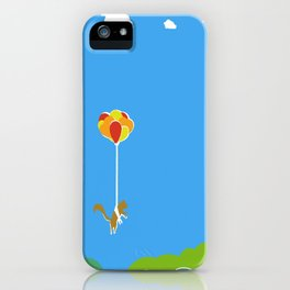 A Squirrel's Journey iPhone Case