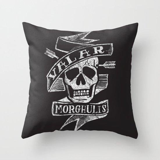 all men must die Throw Pillow