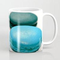 macaroons Mugs featuring Macarons / Macaroons by Whimsy Romance & Fun