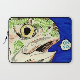 fish and trembling Laptop Sleeve