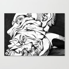 my two persons Canvas Print