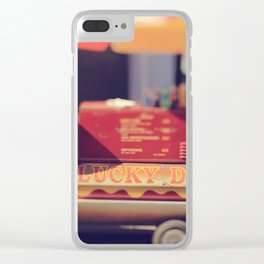 New Orleans Lucky Dogs Clear iPhone Case