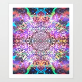 Centaurus Cosmic Mandala Art Print