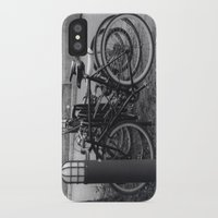 bikes iPhone & iPod Cases featuring Bikes by Ashley Simbulan