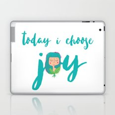 today i choose joy Laptop & iPad Skin