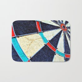 Dartboard Bath Mat