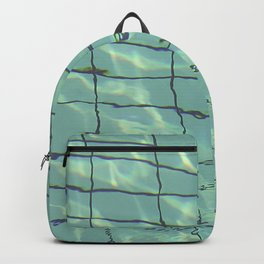 Water pattern Backpack