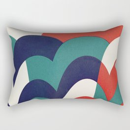 Sol e Nuvens Rectangular Pillow