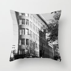 gastown vancouver Throw Pillow