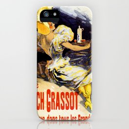 Punch Grassot 1895 iPhone Case
