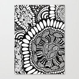 Circular Pattern Canvas Print