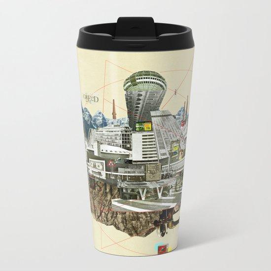 Collage City Mix 7 Metal Travel Mug