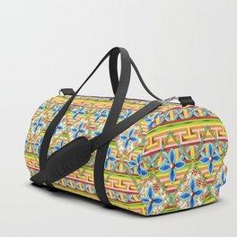 Elizabethan Rainbow Blossoms Duffle Bag