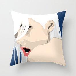 Moan Throw Pillow