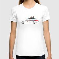 ghostbusters T-shirts featuring Ghostbusters - Car by V.L4B