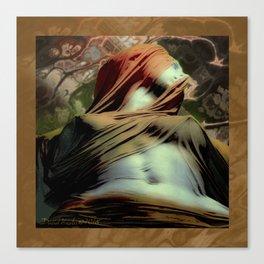 Veiled Truth Canvas Print
