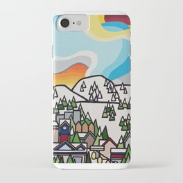 Almost Apres Ski iPhone Case