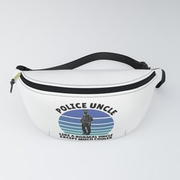 police uncle except much cooler Fanny Pack