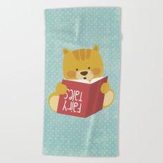 Fairy Tales, Teddy Bear Beach Towel