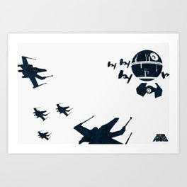 """Stay in attack position"" Art Print"
