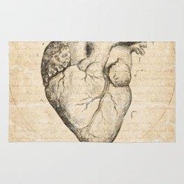 Heart Quote By Zelda Fitzgerald Rug