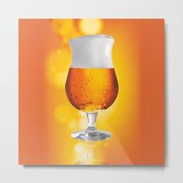 Belgian Beer 3 Metal Print
