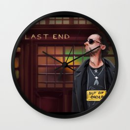 Concept art Out of Order Wall Clock