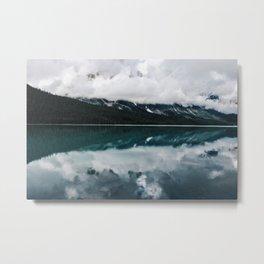 Banff Reflections Metal Print