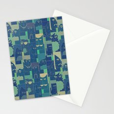 Men with beards Stationery Cards