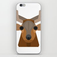 elk iPhone & iPod Skins featuring Elk by A.D.