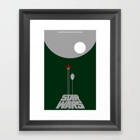 A New Hope IV Framed Art Print