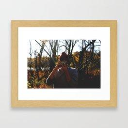 Through the Lens Framed Art Print